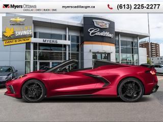 New 2020 Chevrolet Corvette for sale in Ottawa, ON