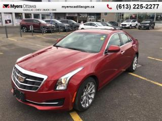 Used 2017 Cadillac ATS Sedan 2.0 Turbo  AWD, 2.0 TURBO, SUNROOF, LEATHER, HEATED SEATS, LOW KM! for sale in Ottawa, ON