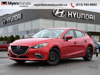 Used 2016 Mazda MAZDA3 GS  - $111 B/W - Low Mileage for sale in Kanata, ON
