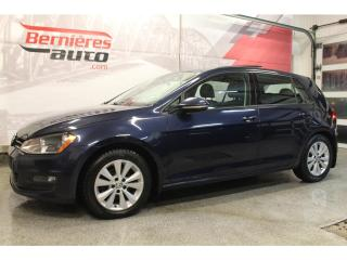 Used 2015 Volkswagen Golf COMFORTLINE 1.8 TSI + CUIR + TOIT for sale in Lévis, QC
