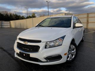 Used 2016 Chevrolet Cruze Limited 1LT 2WD for sale in Cayuga, ON