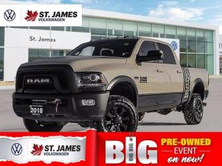Used 2018 RAM 2500 Power Wagon 6.4L HEMI V8, Clean Carfax, Apple CarPlay, Power Sunroof for sale in Winnipeg, MB