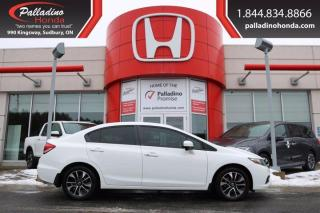 Used 2014 Honda Civic Sedan EX - CERTIFIED - for sale in Sudbury, ON