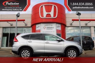 Used 2016 Honda CR-V EX - NEW ARRIVAL - for sale in Sudbury, ON