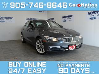 Used 2014 BMW 3 Series 320i | XDRIVE | LEATHER | SUNROOF | LOW KM for sale in Brantford, ON