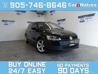 Used 2013 Volkswagen Jetta Sedan TRENDLINE+ | HEATED SEATS | ALLOYS | OPEN SUNDAYS! for sale in Brantford, ON