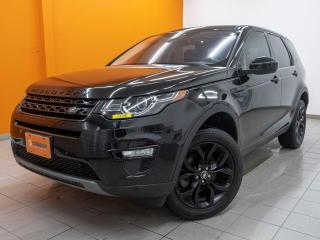 Used 2017 Land Rover Discovery Sport HSE AWD NAV CUIR TOIT PANO SIÈGES CHAUFF *BAS KM* for sale in St-Jérôme, QC
