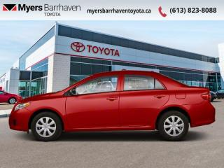 Used 2010 Toyota Corolla CE  -  Power Windows -  Power Doors for sale in Ottawa, ON