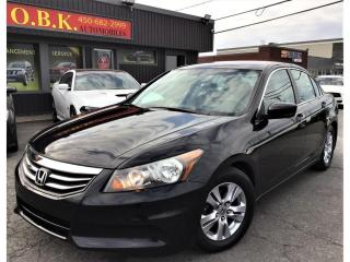 Used 2012 Honda Accord SE-AUTOMATIQUE-SPECIAL EDITION-AIR CLIM-GR ELECTRI for sale in Laval, QC