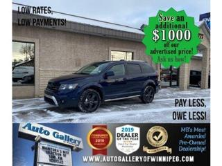 Used 2019 Dodge Journey Crossroad* 7 pass/Nav/R. air/Roof for sale in Winnipeg, MB