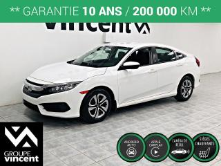 Used 2016 Honda Civic LX ** GARANTIE 10 ANS ** Un seul propriétaire! for sale in Shawinigan, QC