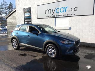 Used 2018 Mazda CX-3 GS HEATED SEATS/WHEEL, BACKUP CAM, LOW MILEAGE!! for sale in Richmond, ON