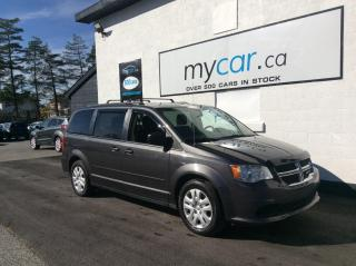 Used 2017 Dodge Grand Caravan CVP/SXT POWERGROUP, A/C, FULL STOWNGO!! for sale in North Bay, ON
