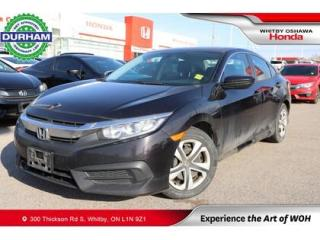 Used 2016 Honda Civic LX | Manual for sale in Whitby, ON