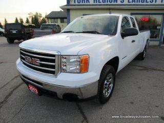Used 2013 GMC Sierra 1500 GREAT KM'S SLE MODEL 6 PASSENGER 5.3L - VORTEC.. TWO-WHEEL DRIVE.. EXTENDED-CAB.. 8-FOOT-LONG-BOX.. TOW SUPPORT.. KEYLESS ENTRY.. CD/AUX INPUT.. for sale in Bradford, ON