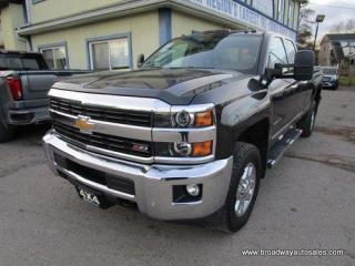 Used 2015 Chevrolet Silverado 2500 3/4 TON LTZ EDITION 5 PASSENGER 6.0L - VORTEC.. 4X4.. QUAD-CAB.. 8-FOOT-BOX.. TRAILER BRAKE.. NAVIGATION.. LEATHER.. HEATED SEATS.. BACK-UP CAMERA.. for sale in Bradford, ON