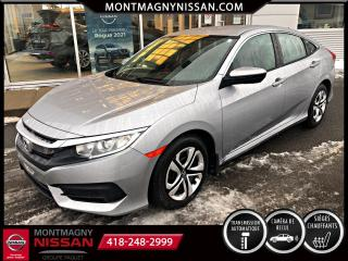 Used 2018 Honda Civic LX CVT for sale in Montmagny, QC