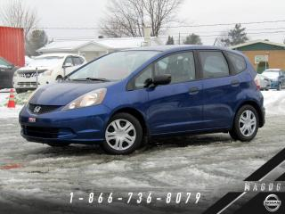 Used 2009 Honda Fit DX + AIR CLIMATISÉ + BAS KILO! for sale in Magog, QC