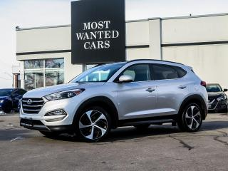 Used 2016 Hyundai Tucson LIMITED|AWD|NAV|BLIND|PANO|PWR TAILGATE|F+R HEATED SEATS for sale in Kitchener, ON