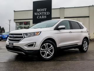 Used 2018 Ford Edge TITANIUM|AWD|CAMERA|COOLED SEATS|19