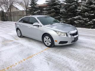 Used 2013 Chevrolet Cruze LT Turbo New Tires! 1.4L Turbo! for sale in Winnipeg, MB