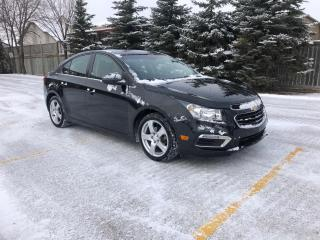 Used 2015 Chevrolet Cruze 2LT Fully Loaded! Bluetooth remote start backup camera for sale in Winnipeg, MB