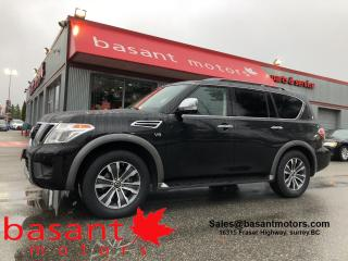 Used 2019 Nissan Armada SL, 8 Passenger, Nav, Sunroof, Driver Assists!! for sale in Surrey, BC