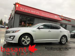 Used 2016 Kia Optima Hybrid Low KMs, Heated Seats, Backup Camera!! for sale in Surrey, BC