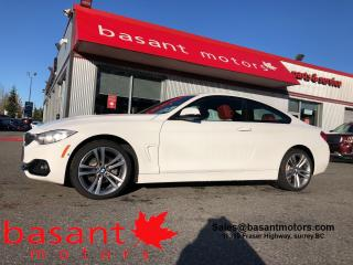 Used 2016 BMW 4 Series Low KMs, HUD, Driver Assists, Harmon Kardon, Nav!! for sale in Surrey, BC