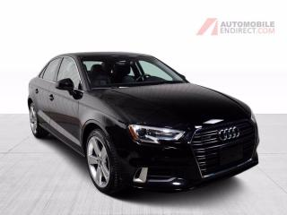 Used 2018 Audi A3 KOMFORT QUATTRO CUIR TOIT MAGS GROS ECRA for sale in St-Hubert, QC