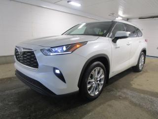 New 2021 Toyota Highlander Hybrid Limited for sale in Regina, SK