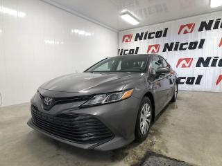 Used 2019 Toyota Camry LE COMME UNE NEUVE!! for sale in La Sarre, QC