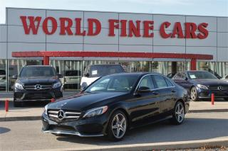 Used 2017 Mercedes-Benz C-Class Accident Free! Ontario! for sale in Etobicoke, ON