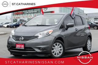 Used 2016 Nissan Versa Note 1.6 SV Alloys | Auto | Air | 1 owner for sale in St. Catharines, ON
