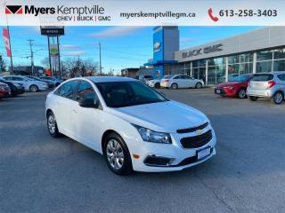 Used 2015 Chevrolet Cruze 2LS  - Bluetooth -  OnStar for sale in Kemptville, ON