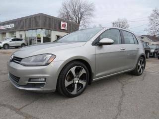 Used 2015 Volkswagen Golf TDI Highline NAVI FENDER CAMERA CUIR TOIT MAGS for sale in St-Eustache, QC