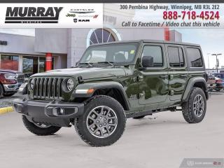 New 2021 Jeep Wrangler Sport 80th Anniversary Unlimited 4x4 for sale in Winnipeg, MB