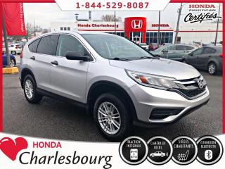Used 2016 Honda CR-V LX AWD **58 572 KM**UN PROPRIÉTAIRE** for sale in Charlesbourg, QC