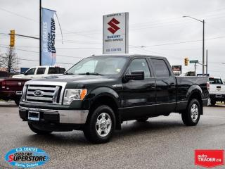 Used 2012 Ford F-150 XLT Super Crew 4x4 ~5.0L V8 ~Trailer Tow ~LOW KM! for sale in Barrie, ON