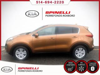 Used 2017 Kia Sportage LX AWD TRES PROPER / 2 SETS OF TIRES for sale in Montréal, QC