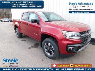 New 2021 Chevrolet Colorado 4WD Z71 for sale in Kentville, NS