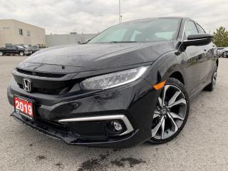 Used 2019 Honda Civic Touring TOURING WITH LEATHER AND SUN ROOF for sale in Carleton Place, ON