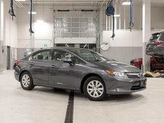 Used 2012 Honda Civic 4dr Auto LX for sale in New Westminster, BC
