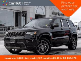 New 2021 Jeep Grand Cherokee 80th Anniversary Edition 4x4 Heated & Vented Seats for sale in Thornhill, ON