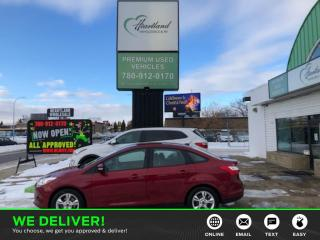 Used 2013 Ford Focus LOW KM'S | WINTER TIRES-USED EDMONTON FORD DEALER for sale in Edmonton, AB