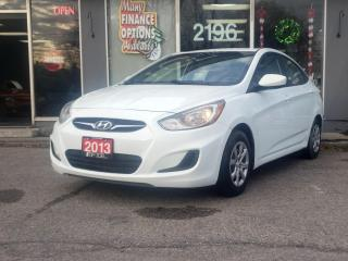 Used 2013 Hyundai Accent 4dr Sdn Auto GL for sale in Bowmanville, ON