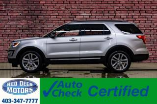 Used 2017 Ford Explorer AWD XLT Leather Roof Nav BCam for sale in Red Deer, AB