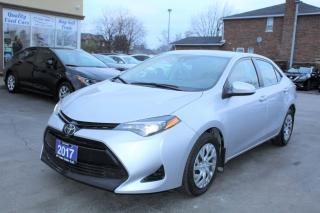 Used 2017 Toyota Corolla LE for sale in Brampton, ON
