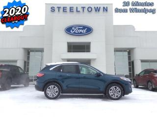 New 2020 Ford Escape SEL 4WD  - Activex Seats -  Heated Seats for sale in Selkirk, MB