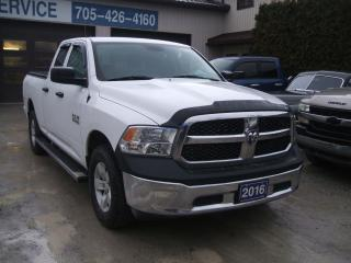 Used 2016 RAM 1500 SXT, V6, 4x4, Quad Cab for sale in Beaverton, ON